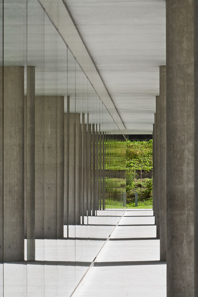 Stabile Amministrativo 3, Bellinzona, Ticino, Switzerland, Snozzi-Groisman Architects