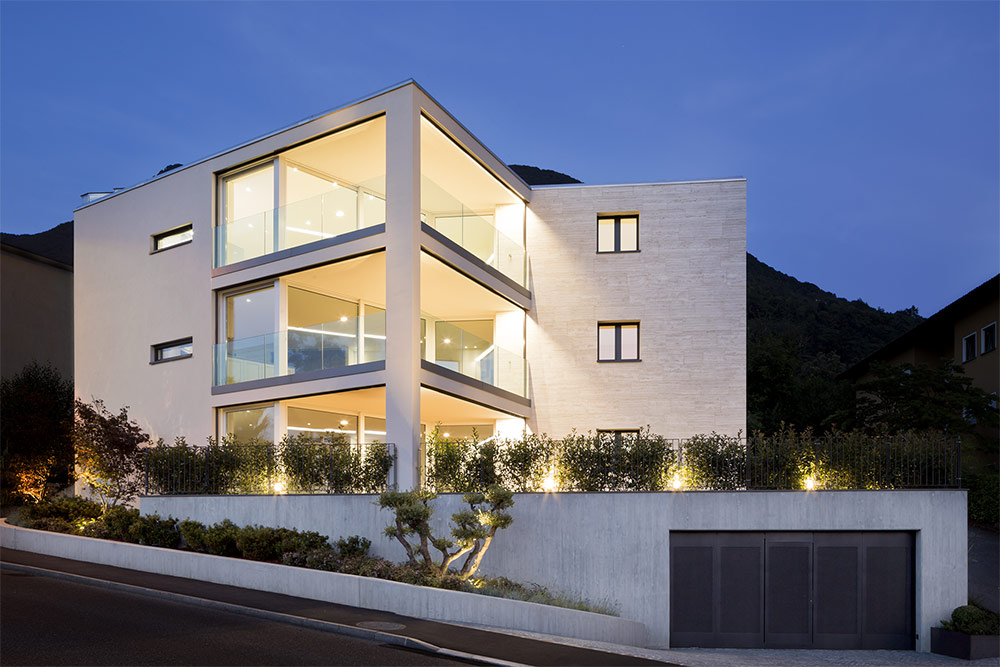 Residence, Lugano, Switzerland architect Thierry Bottinelli